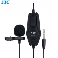 "JJC SGM-38II Omnidirectional Lavalier Microphone 3.5mm to 1/4"" microphone jack"